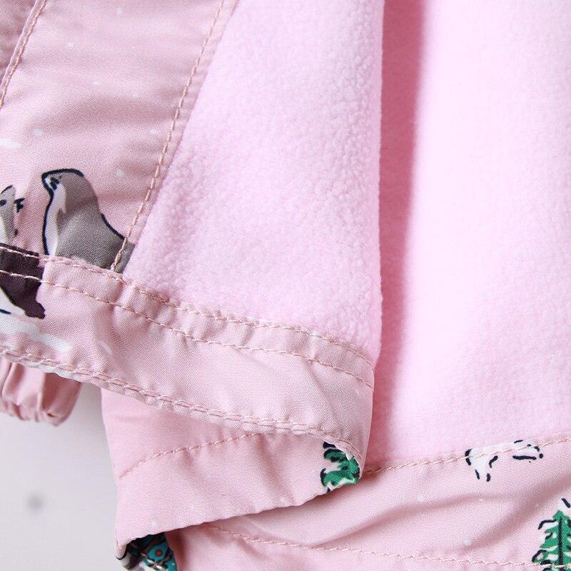 hoodies para meninas 2y 9y estampa animal 05