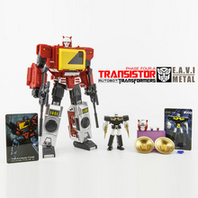 (IN STOCK)  Toy Keiths Fantasy Club EAVI METAL PHASE Four: A  TRANSISTOR & HIFI  Pure Red Version