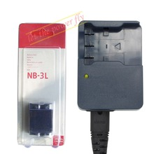 NB 3L NB-3L NB-3LH Rechargeable Battery + CB-2LUE CB-2LU Charger For Canon IXUS 750 700 i5 i2 600 L2 700 IS IIS IXY700 SD20