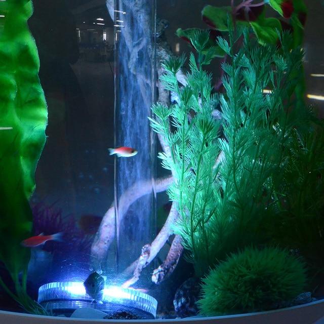 Mini RGB 10 Leds Dompelpompen Aquarium Licht Batterij IP68 ...