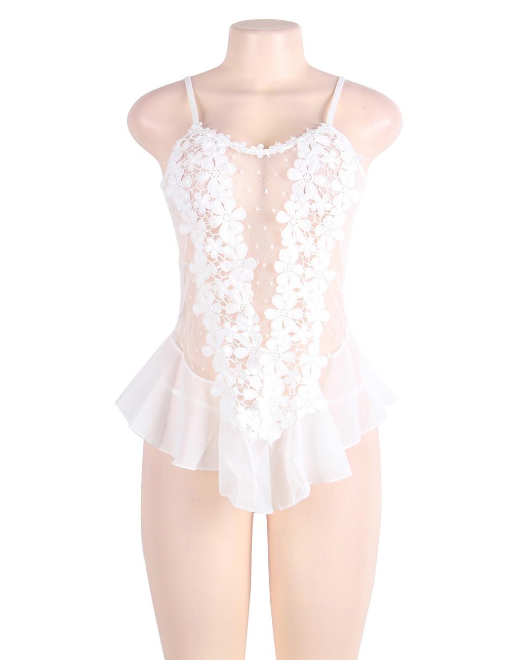 Flower Lace Babydoll