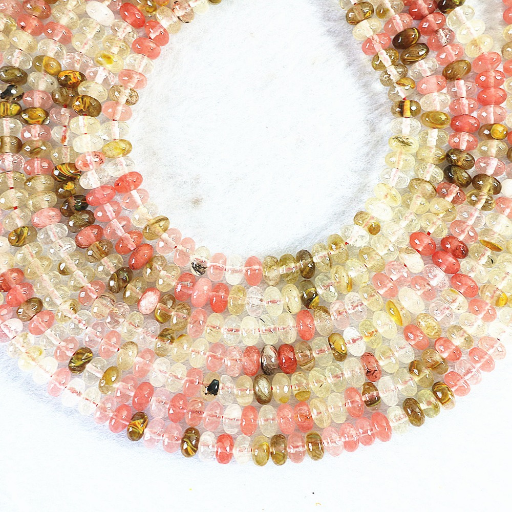 8 mm naturel orange South Sea Shell Perle Ronde Pierres Précieuses Perles Collier 36/""