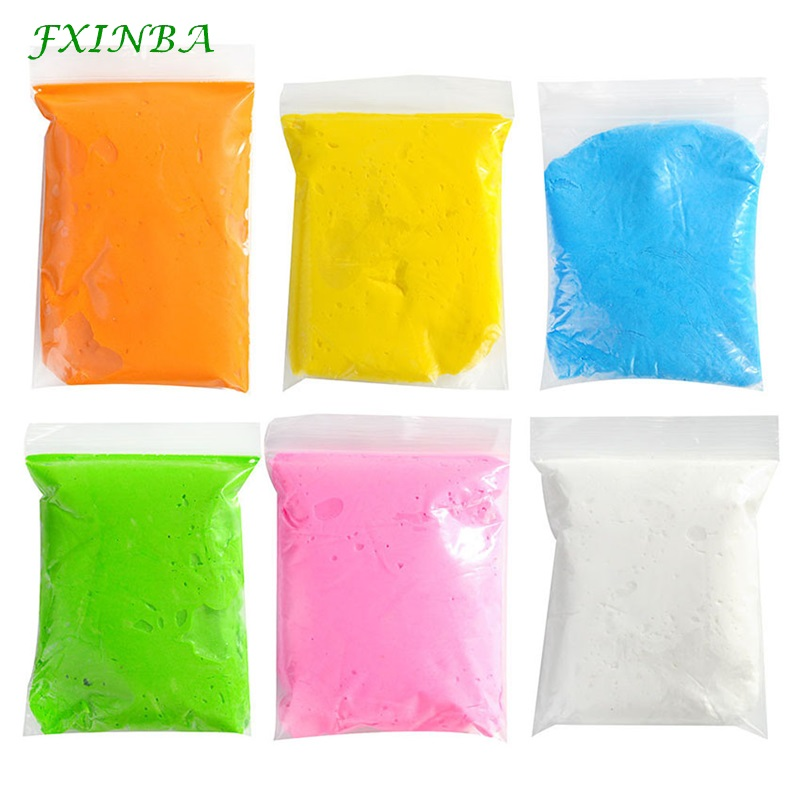 FXINBA 20G/Pack Soft Clay Modelling Plasticine DIY Super Light Clay Mud Lizun Polymer Clay Educational Toys Children Kids Gift