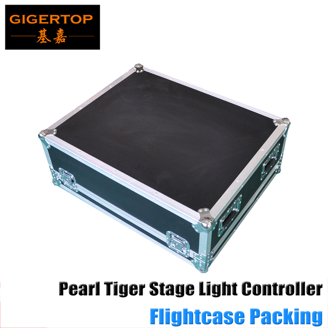 Pearl Tiger Stage Light Console for Led Par Light/Moving Head Light Flightcase Pack Compatible Pearl 2004 2008 Pearl Expert