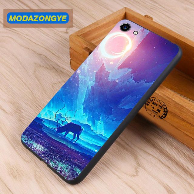 new products 3d512 de8b8 US $3.78 10% OFF|Vivo Y81 Case Vivo Y81 Cover 6.22 inch Soft TPU Back Cover  Phone Case Vivo Y81 Y 81 VivoY81 Case Silicone Protective Cover-in Fitted  ...