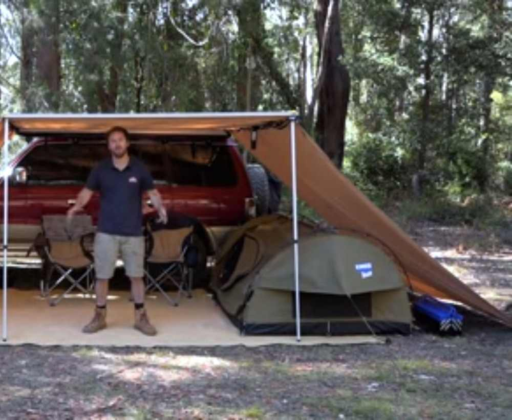 4Wd Awning Tent car awning tent with one side sun shade shelter for car camp