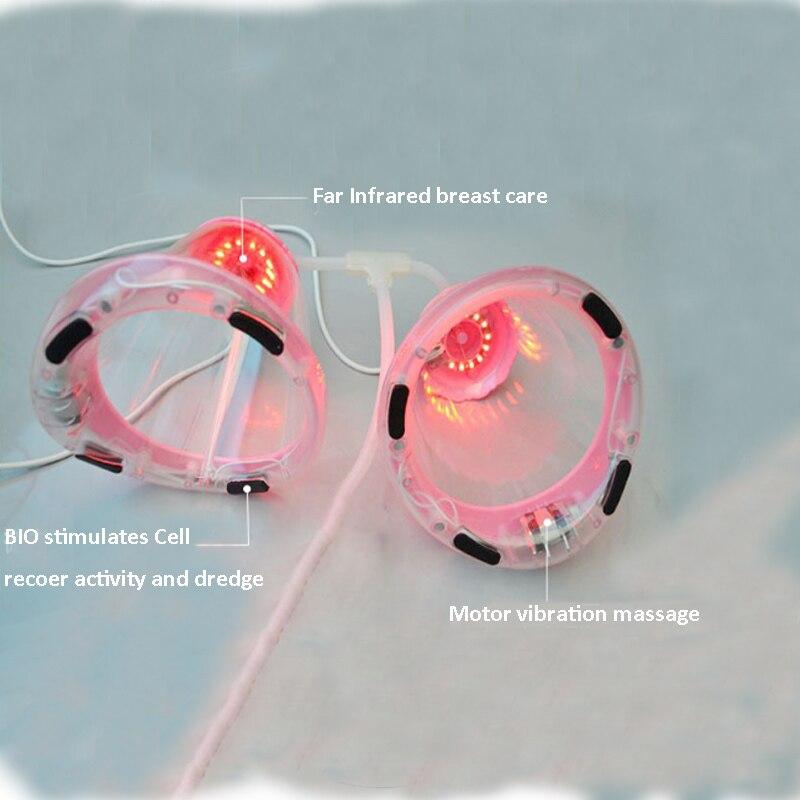 1 pièces Vibration fesses poitrine masseur améliorer femme beauté soins SPA électrique sein masseur accessoires soins de santé 5