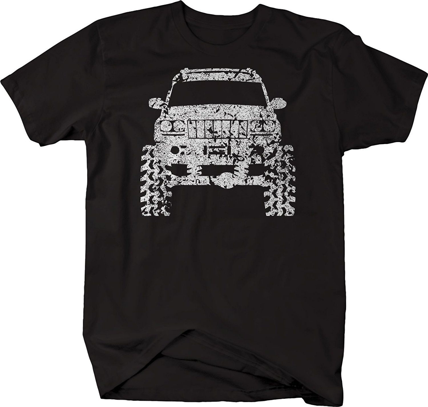 2018 Short Sleeve Cotton Man Clothing Jeep Grand Cherokee WJ Lifted Offroad 4 X 4 Tshirt   T     Shirts
