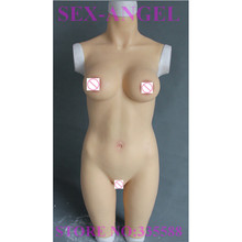 F CUP 4500g The new slim design plus size silicone breast crossdressers artificial vagina
