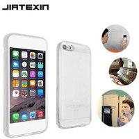 Jiatexin ясно Анти тяжести чехол для Apple IPhone 5 5S SE задняя крышка корпуса волшебный нано всасывания адсорбированных ударопрочность телефон Капа
