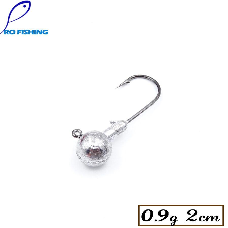 Micro Jig Rock Fishing 0.9g 2cm 15pcs Fishing Hooks Jig Head Barbed Hooks Jigging Ice Winter Carp Fishing Accessories