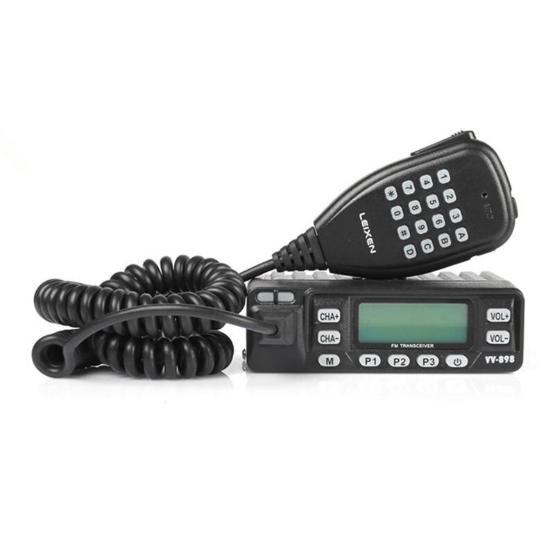 LEIXEN VV-898 FM Dual Band Émetteur-Récepteur VHF/UHF 136-174/400-470 mhz Kit 10 w Mobile De Voiture deux Voies Radio Amateur Jambon En Plein Air