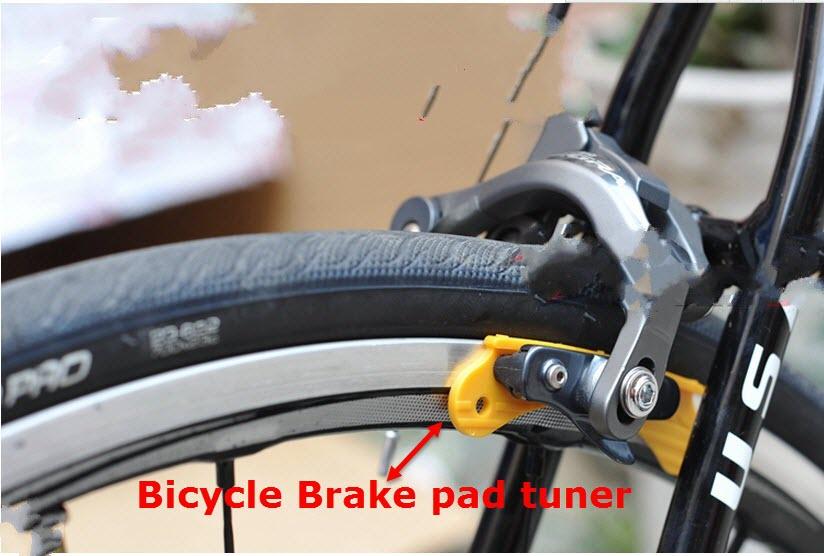 2ks / lot Bicycle Brzdové destičky Tuner V Brzdové destičky pro Shimano sram MTB Cyklistická sada na opravu