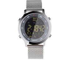 EX18 Smart Watch Diving 50M Waterproof Pedometer Clock Fitness Tracker Bluetooth Phone Message Push Sports Healthy
