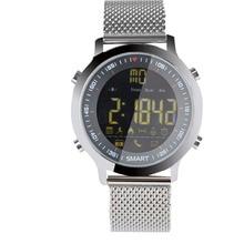 EX18 Smart Watch Diving 50M Waterproof Pedometer Clock Fitness Tracker Bluetooth Phone Message Push Sports Healthy Smartwatch