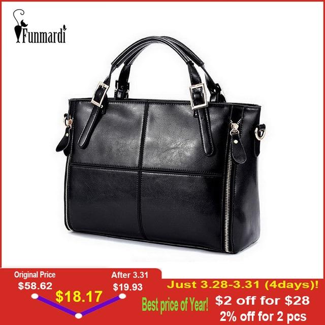 Funmardi роскошные женские сумки из крокодильей кожи Сумки Для женщин сумки дизайнер Разделение кожаные сумки Для женщин сумки бренда Топ-ручк...