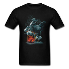 BBQ CANNIBAL Funny Tee-Shirts Cock Mens New Arrival Slim Fit Streetwear T-Shirts On Sale Best Gift Night Tshirt Drop Shipper