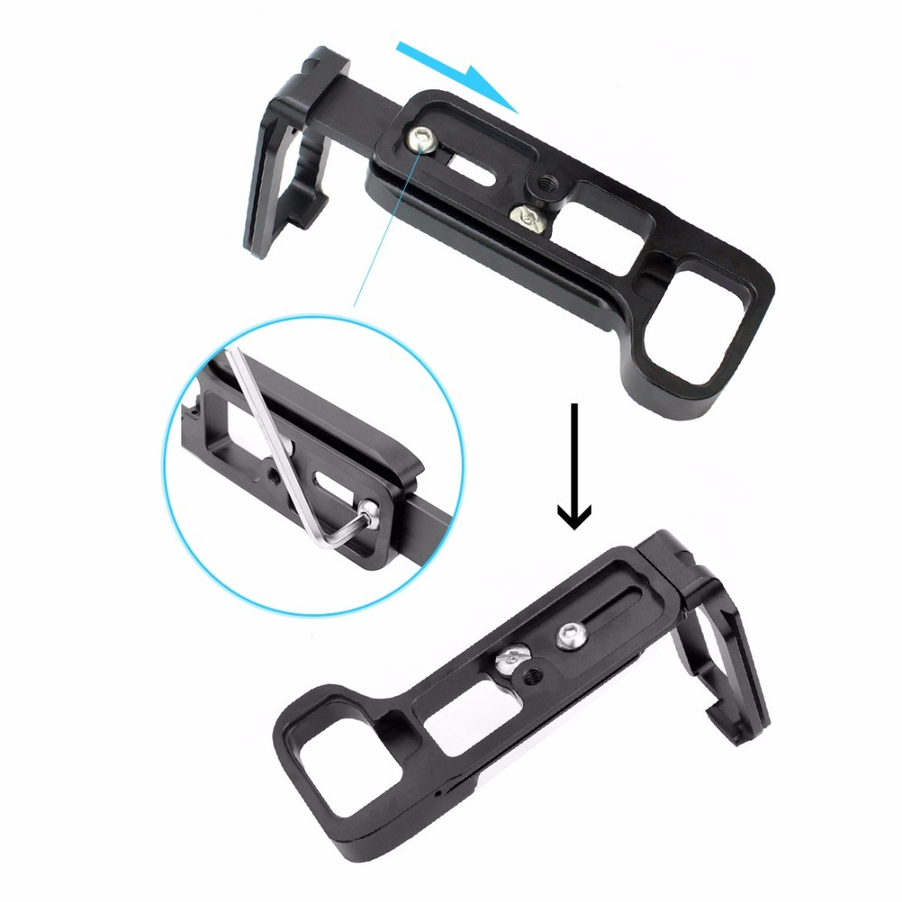 L Plate Bracket Camera Hand Grip Camera Holder For SONY A7III / A7RIII A7M3  A9 A7R3 with Wrench Release Baseplate & side plate