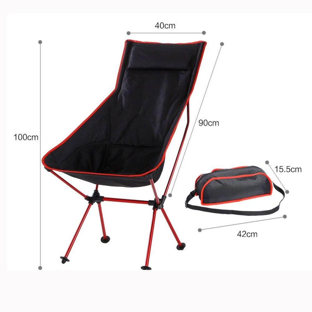 Livre de Carga Dobrável Cadeira Alta Portátil Artefato