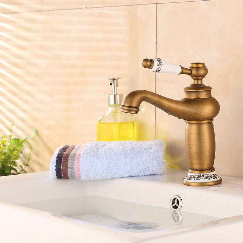 Brand Quality 5 Type Electroplated Short Magic Lamp Basin Faucets ...