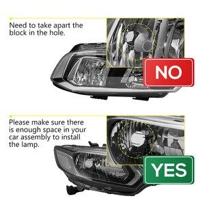 Image 5 - 2 pcs h4 led 미니 프로젝터 렌즈 변환 키트 6500 k 헤드 라이트 하이/로우 빔 10000lm 전구 자동차 12 v/24 v