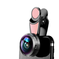 Mobiele Camera Lens 8mm HD Full Screen Fisheye Lens Mobiele Telefoon Camera Universele Clip Professionele Fish Eye Lens