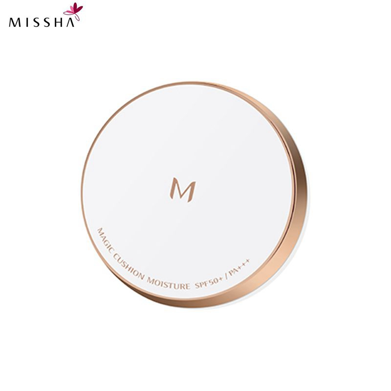 MISSHA M Magic Cushion Moisture SPF50+ 21 Light Beige/23 Natural Beige Cushion Whitening flawless air cushion BB cream Foundatio free shipping 59 j0b01 cg1 compatible bare lamp for benq pb8720 pe8720 w10000 w9000