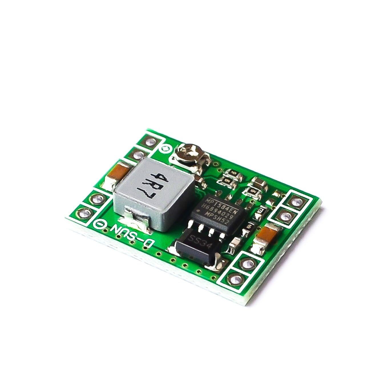 1000PCS Ultra Small Size DC DC Step Down Power Supply Module MP1584EN 3A Adjustable Buck Converter