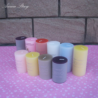 Aroma Story 3pcs Lot Flameless Gel Wax Candles Wedding Scented Candle Home Dinner Room Party Decor
