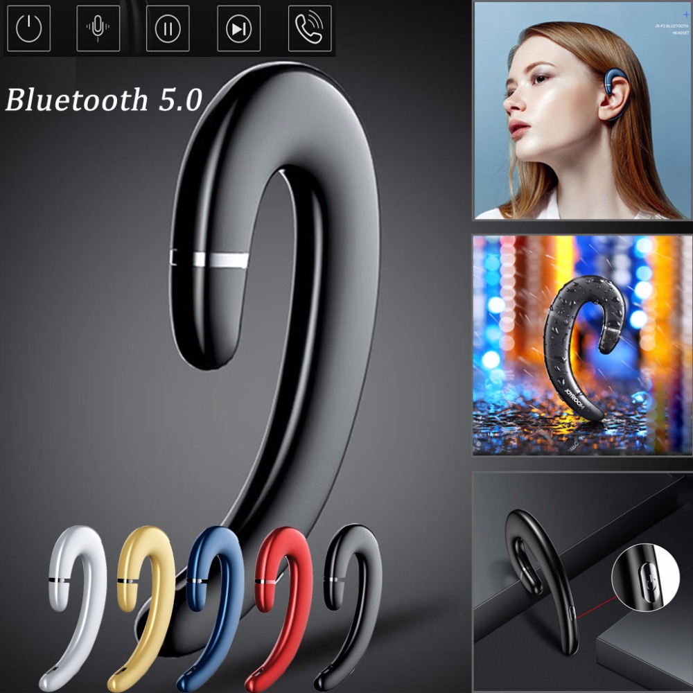 Joyroom P5 Bone Conduction Bluetooth 5.0 Headset Wireless Sports Headphones Earphone Mic 2019 High Quality image