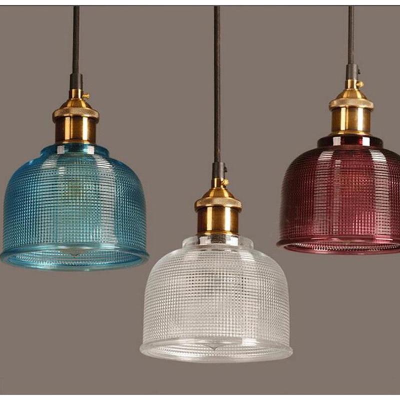 Suspension en verre LED moderne élégante grande ampoule LED avec mémoire suspension pour salon salle d'étude simple éclairage à la maison AL194