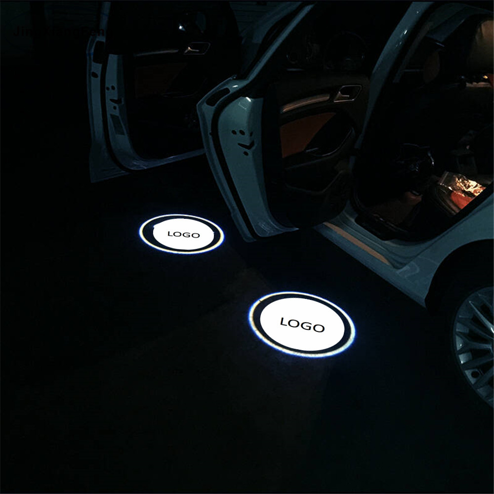JingXiangFeng for Audi 2pcs LED Car Door Courtesy Projector Logo Light For Skoda Superb old Octavia Febia Roomster