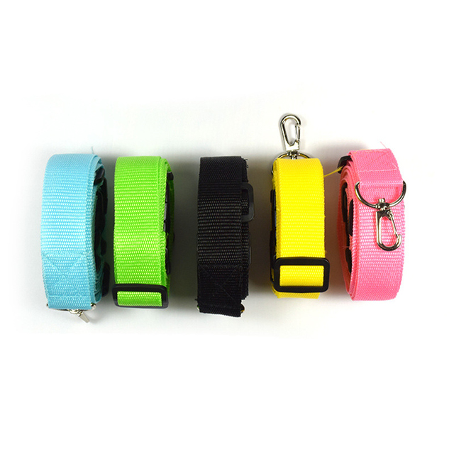 Dog Leash Nylon Runing For Small Large Dogs Collars Leashes Pet Traction Rope Belt Hands Pets Tow Rope Adjustable Pet Products
