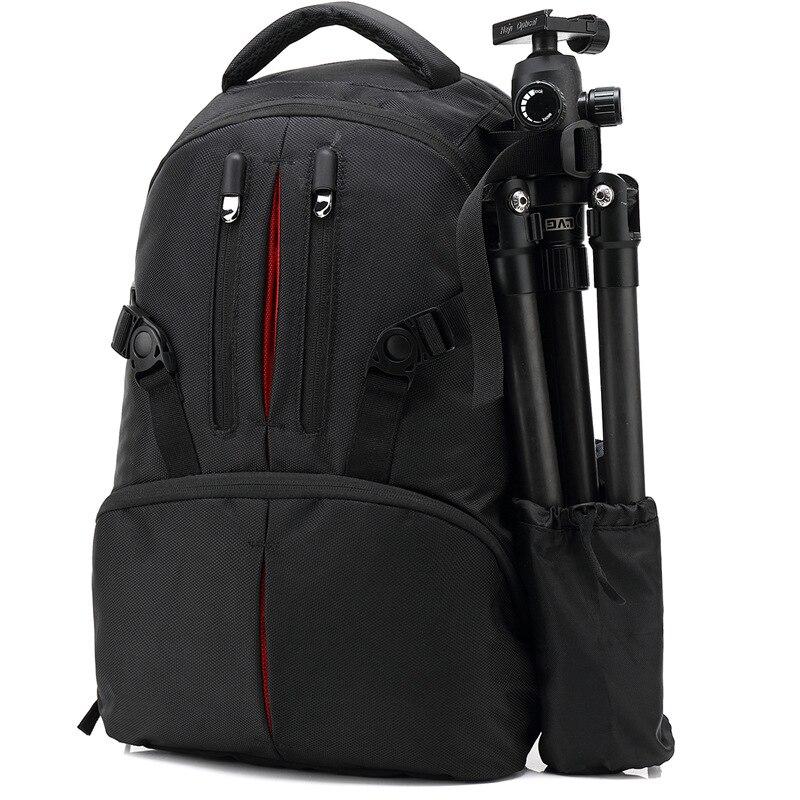 Multi-fonctionnel photographe numérique DSLR caméra sac vidéo Tables sacs couvre caméra sac à dos PC paquet pour Nikon Canon Sony