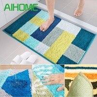 New Home 3D Carpet Livingroom Bedroom Carpet Anti Slip Rectangular Rug Baths Bathroom Mat Toilet Mats