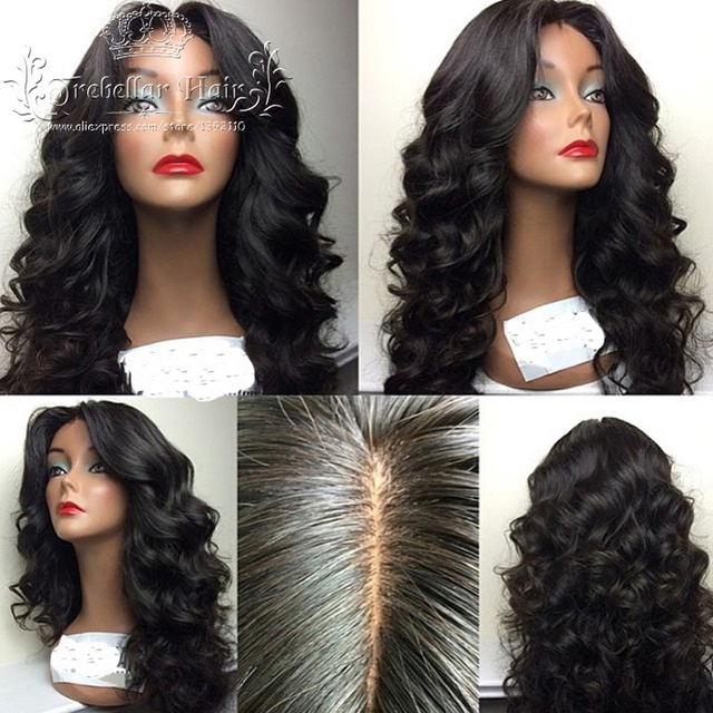 Brazilian Glueless Full Lace Body Wave Wigs Front Lace Rpg Show