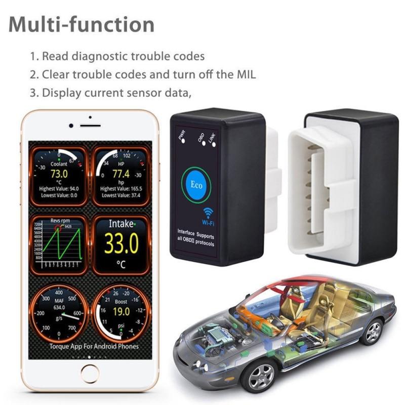 Universal OBD 2 ODB II ELM 327 V2.1 Bluetooth ODB2 Diagnostic Tool All Car Codin OBD2 ELM327 V2.1 Scanner Auto OBDII Scan Tool