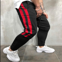 2019 New Spring Hip Hop Casual Track Pants Fashion Streetwear Trousers Color Block Patchwork Harem Pants