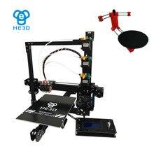 Set sale,NEWest HE3D EI3 tricolor 3D printer diy kit,adding open sourse  3D scanner DIY kit
