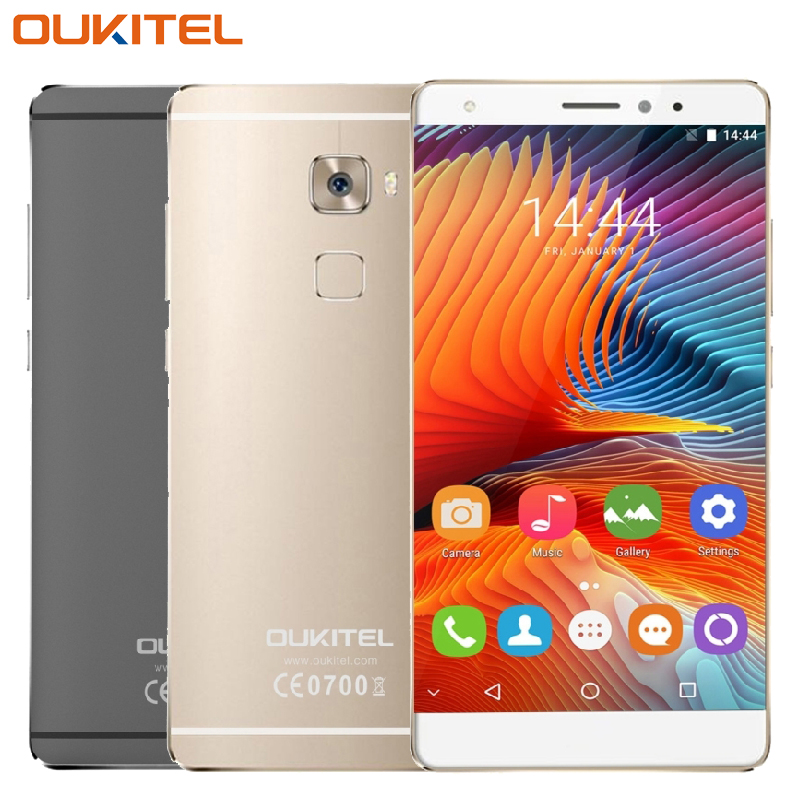 Galleria fotografica D'origine Oukitel U13 Cellulaire Téléphone 5.5 pouce 3 GB RAM 64 GB ROM MT6753 Octa base Android 6.0 Caméra 13.0MP d'empreintes digitales Smartphone