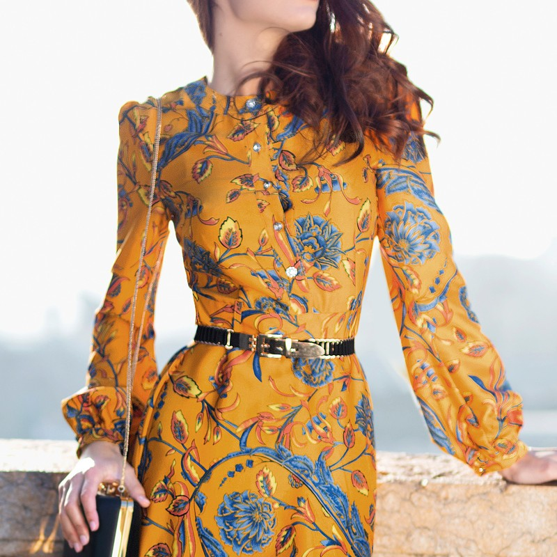 541f62671cf25e HOGE KWALITEIT Nieuwe Mode 2018 Designer Maxi Dress vrouwen Lange ...
