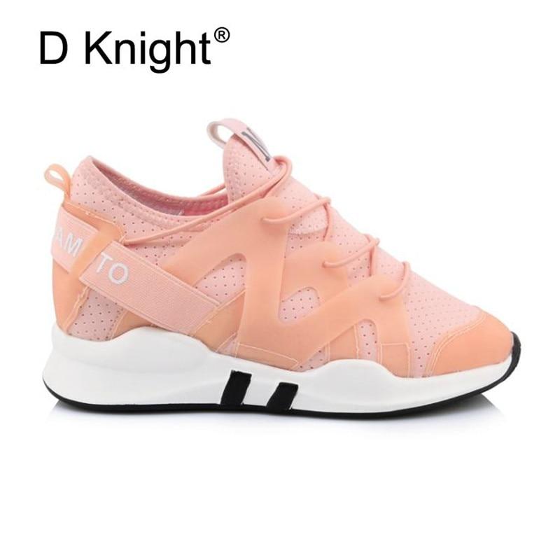 Chunky En pink white De Semelle Mode Épaisse Femme forme P02 Femmes P02 Papa Grande Plat Pu Maille Taille Up P02 Black Sneakers 45 2019 Cuir Chaussures Lace Plate 0wxSqd