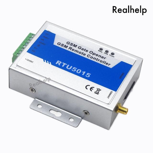 New Upgrade RTU5015 2G SIM GSM Gate Door Opener Operator with SMS Remote Control Home Aalrm Barrier Opener