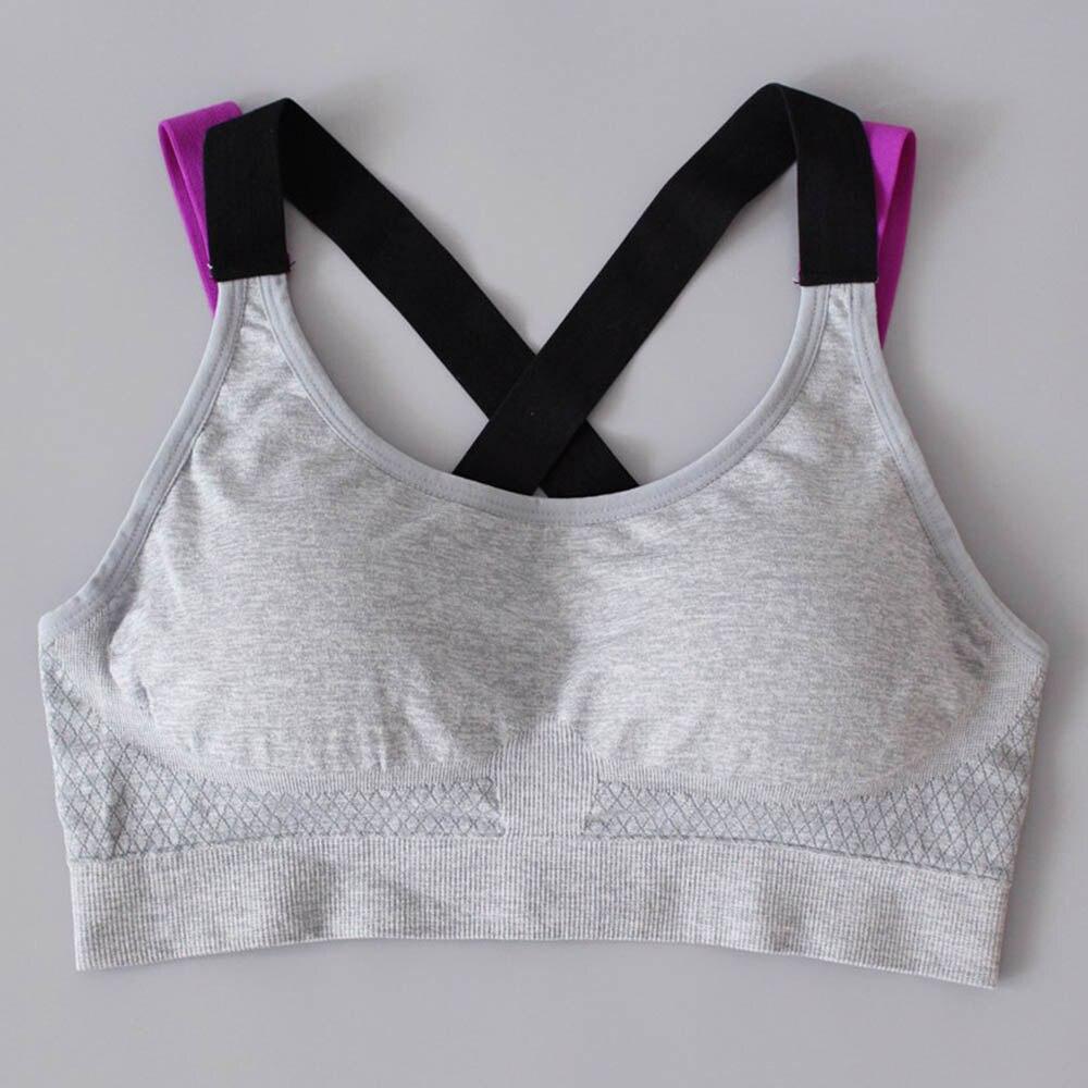 Sport & Unterhaltung Hahasole Frauen Tank Tops Gym Kleidung Einfarbig Grau Jogging Bh Hand-made Braid Crop Top Sport Yoga Sport Bhs Hwa2545-3 Sport-bhs