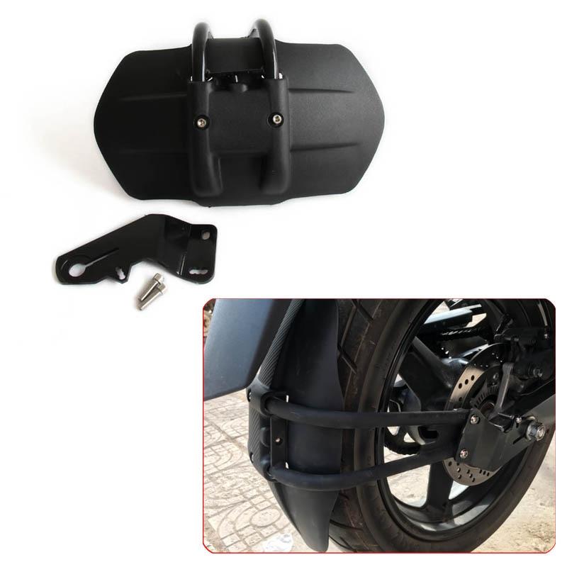 CNC Aluminum YZF-R3 Motorcycle Accessories rear fender bracket motorbike mudguard For Yamaha YZF R3 R25 Rear fender motorcycle cnc aluminum mudguard rear fender bracket license plate holder light for yamaha mt01 mt03 mt07 mt09 r25 r3