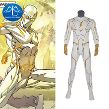 ManluyunxiaoThe Flash Season 5 Barry Allen God Speed  Cosplay Costume Carnival Halloween  for Adult Men Jumpsuits Rompers  Sets цены