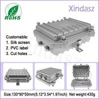 130*90*50mm fuente de alimentación Impermeable carcasa de aluminio caso carcasa de aluminio, caja de medidor de electricidad, de metal caja de distribución