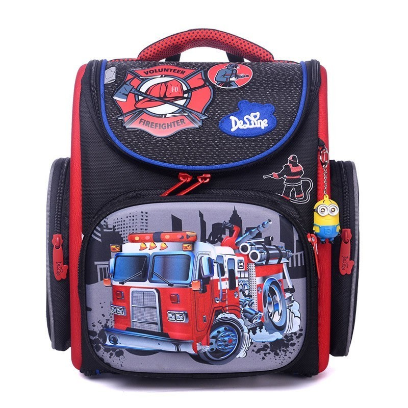 Children Grade 1-4 School Back Pack Bags Satchel For Boys Primary School Backpack Orthopedic Schoolbag Children Backpacks Bag 1