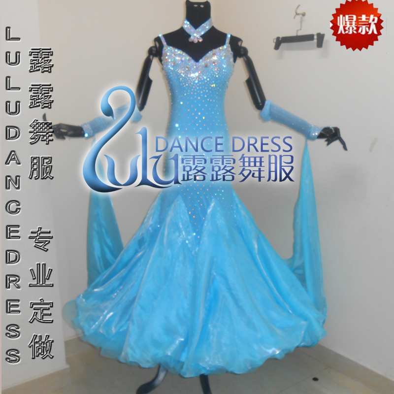 Latin Salsa Samba Chacha Ballroom Dance Dress Competition Dancewear