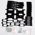 6 Patas Frame Robot Único Marco 18 DOF Robot Hexápodo Araña Araña Robot RC Mini Araña Soporte Stent Kit (SIN SERVO)